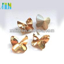Kristallglas Steinperlen Schmetterlingsform Glaskristall 4748