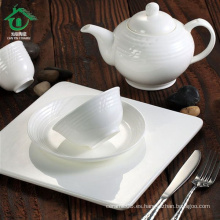 5pcs cerámica de porcelana fina conjunto de vajilla