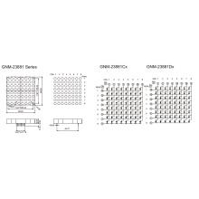 2,3 Zoll, 5,0 mm DOT (GNM-23881Cx-Dx)
