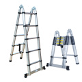 2.6m  Extendable Aluminium Stairs Telescopic Ladders With EN131
