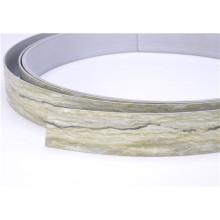 Kunden-Entwurf Woodgrain-Farbe Heiß-Verkauf PVC-Kanten-Bänderung
