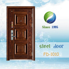 China Newest Develop and Design Single Steel Security Door (FD-1010)