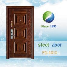China mais recente desenvolver e projetar porta de segurança de aço único (FD-1010)