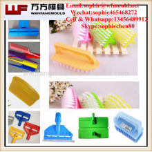 Multi-cavity plastic brush mould made in China/OEM Custom plastic brush mould making in Taizhou