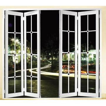 2015 Складной дизайн Алюминиевые двери с лучшей ценой
