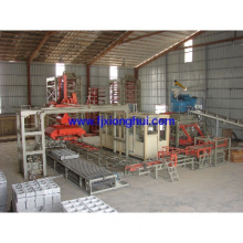 Hot selling fully automatic block/brick production line