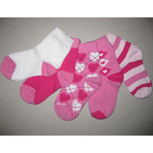 Socks Girls Fancy Socks Girls Pink and White Socks