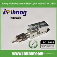 ST UPC cuadrado adaptador de fibra óptica desnuda