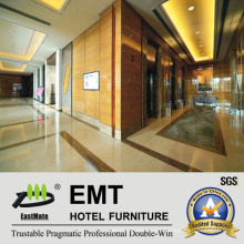 Modern Style Star Hotel Interior Wooden Wall Panel (EMT-F2117)