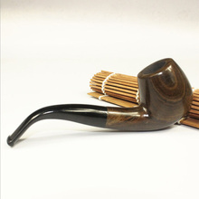 Classical Wooden Cost-Effective Durable Exquisite Smoking Pipe