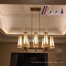 Moderne Antiken Messing Lobby Pendelleuchte für Hotel Projekt