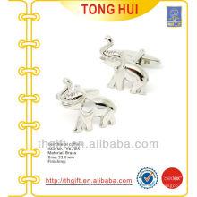 Novidade de mancuernas em forma de elefante de metal para presentes de promoção