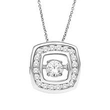 Pendentifs en argent sterling avec diamants 925 Sterling Silver Jewelry
