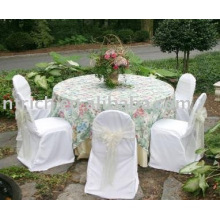 100%polyester chair covers,hotel/banquet chair covers,organza sashes