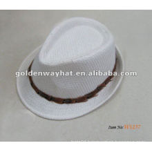 White fashion top hat cheap