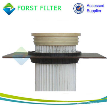 Top Carga Filtros de bolsa plisada, filtro de bolsa de polvo para el aspirador, filtros de bolsa de la industria del cemento