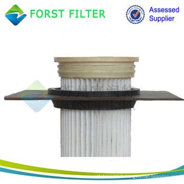 Filtres à sac plissé à chargement supérieur, filtre à sac à poussière pour aspirateur, Filtres à sacs à l'industrie du ciment