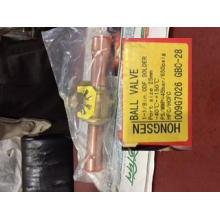 Válvulas de bola de refrigeración Danfoss 1-1 / 8 pulgada ODF Soldar Gbc-28 (009G7026)