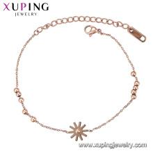 Браслет-137 Xuping имитация ювелирных изделий из розового золота цвет дизайн женский браслет
