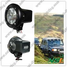 35 Вт / 55 Вт, 7-дюймовый спрятанный ксеноновый дальний свет для внедорожников Jeep SUV 4X4 Offroadlight