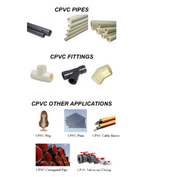 CPVC Resin with pipe and fitting- hot sale in Middle East