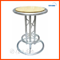 Factory direct sell high quality LED cocktail bar table aluninum led bar table