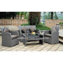 Alle Wetter Outdoor Garten Testil Sofa Set