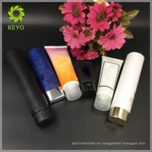 Tubo cosmético de la crema de empaquetado cosmético coloreado de lujo de 50ml 75ml