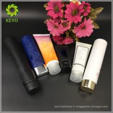 50ml 75ml luxe cosmétique emballage crème cosmétique tube cosmétique