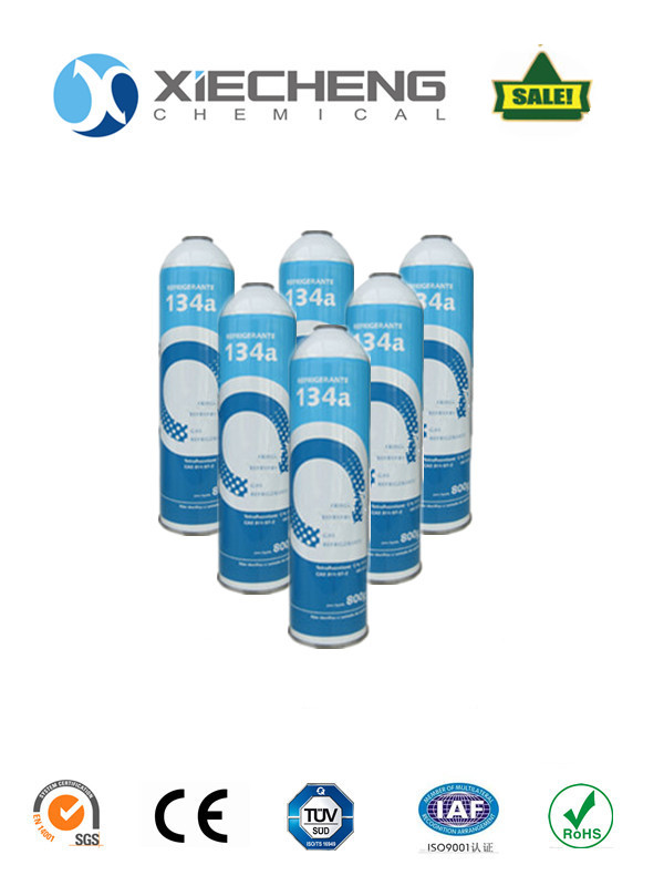 Refrigerant gas R134a auto air condition