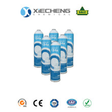 Good Quality for Auto Air Condition Refrigerant R134 Refrigerant gas R134a auto AC for 1000g can export to Micronesia Supplier