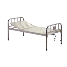 Steel and S. S. One-Crank Care Bed