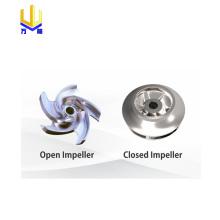 Molde de fundición de molde de impulsor de acero personalizado
