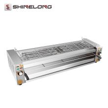 K1354 Barbecue elétrico para churrasco elétrico de aço inoxidável comercial
