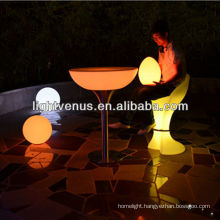 New app remote control color changing factory direct sale rechargeable interactive led table