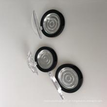 Mini estojo compacto redondo