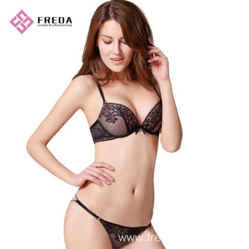 fashion ladies lace bra and underwear set