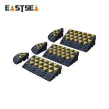 ¡Mejor precio! Rampas de acera de carretera de caucho pequeño y negro y amarillo