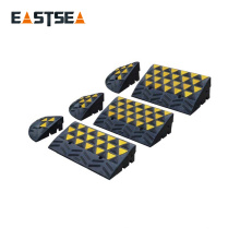 Best Price! Black & Yellow Small Rubber Road Car Kerb Ramps