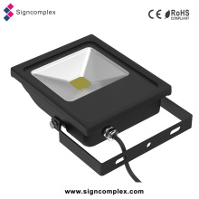 Ultra-Slim Outdoor LED 50W Proyector Light, COB LED Flood Light Outdoor Garden