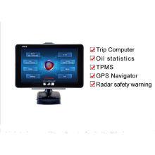 V-Checker A622 Car Trip Computer GPS Navigator TPMS Oil Statistics