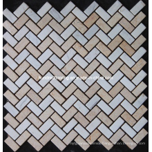 Marble Stone Mosaic Tile (HSM100)