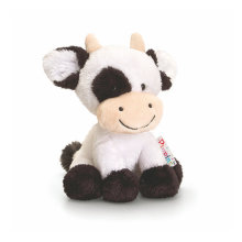 Factory Made Stuffed Cow Animals Custom Plush Toy No Minimum
