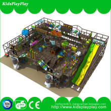 New Design Popular Pirate Ship Kids Indoor Playground with Long Slide