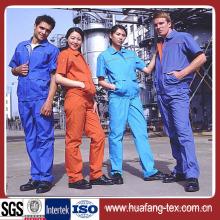 Poliéster / Rayon Plain Workwear tecido