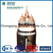 Factory Wholesale 15kv 3x240mm mv multi core pvc insulated power cable for industrial ble china manufacture price