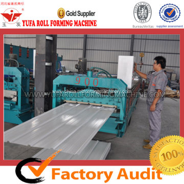 Color Coated Steel Roof Tile Making Machine