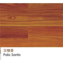 Revestimento de madeira projetado UV do revestimento Palo Santo Revestimento de madeira projetado UV de Palo Santo