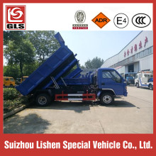 Export 5 Ton Garbage Dump Truck RHD