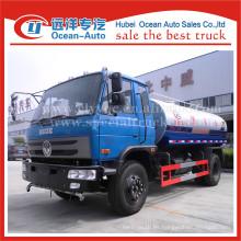 Dongfeng gasóleo Euro 3 camiones de aspersión de agua venta